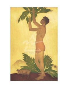 Breadfruit Boy, Hawaii by John Kelly