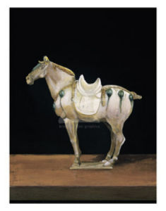 Asian Equus II by Hampton Hall