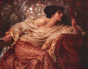 The Mirror, 1896 by John William Waterhouse