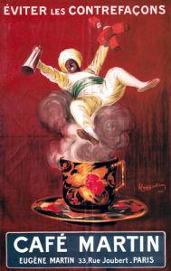 Cafe Martin, 1921 by Leonetto Cappiello