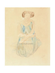 Seated Woman in a Dress, after 1900 by Auguste Rodin