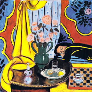 Harmony in Yellow by Henri Matisse