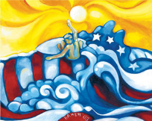 Freedom Surf by Jon Baker