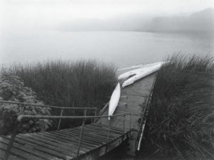 Racing Sculls, Lake Merced, San Francisco, 1995 by Mark Citret