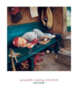 Seventh Inning Stretch by Mike Wimmer