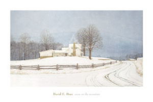 Snow on the Mountain by David Doss