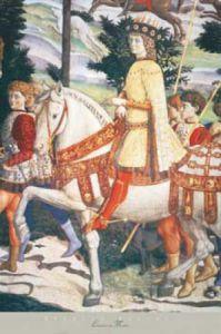 Lorenzo de Medici by Benozzo Gozzoli