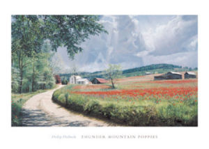 Thunder Mountain Poppies by Phillip Philbeck