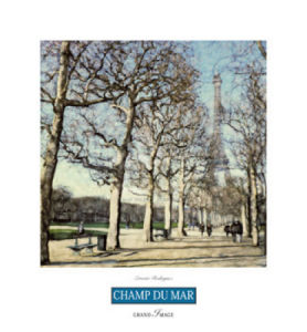 Champs du Mars by Ernesto Rodriguez
