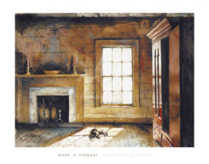 Heyward House Parlour by Mark Stewart