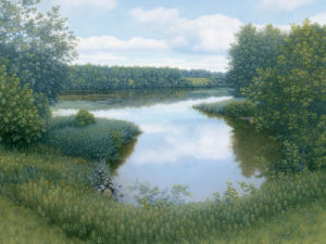 Summer Inlet by Arzt