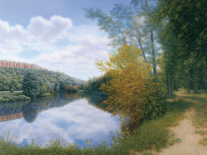 Path Along the River by Arzt