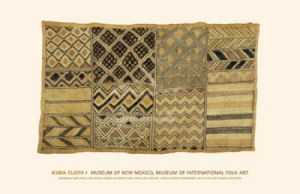 Kuba Cloth I by Artist Not Specified