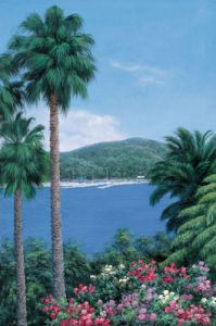 Tropical View by Diane Romanello