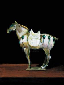 Asian Equus II by Hampton Hall