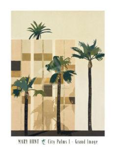 City Palms I by Mary Hunt