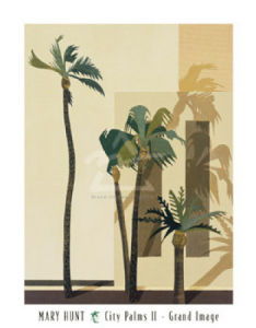 City Palms II by Mary Hunt