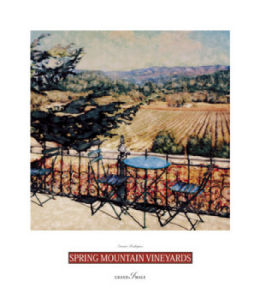 Spring Mountain Vineyards by Ernesto Rodriguez