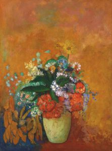 Vase of Flowers, c.1905 by Odilon Redon