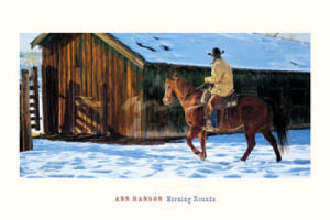 Morning Rounds by Ann Hanson