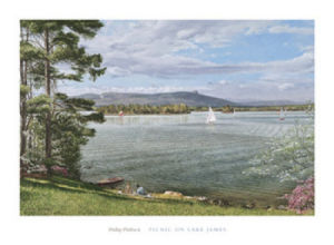 Picnic on Lake James by Phillip Philbeck