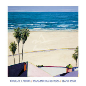 Santa Monica Bike Trail by Douglas K. Morris