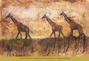 African Savannah II by Marta Wiley
