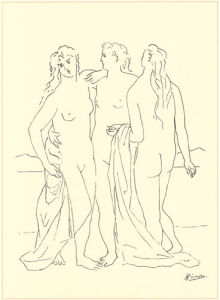 Trois Nus by Pablo Picasso