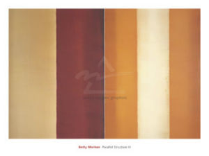 Parallel Structure III, 2003 by Betty Merken