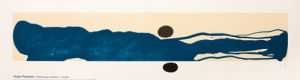 The Blue Between, 1978 (serigraph) by Victor Pasmore