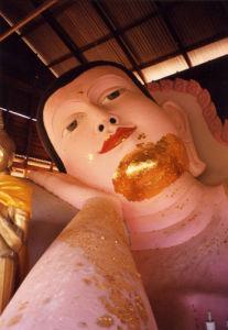 Reclining Buddha, Thailand by Heinz Krimmer