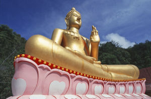 Sitting Buddha by Rosseforp