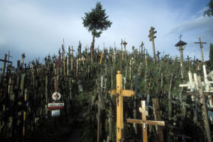 Hill of Crosses, Lithuania by Roland Marske