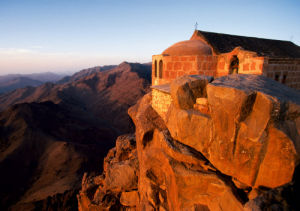 Mount Horeb (Mount Sinai) Egypt by Roland Marske