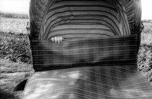 Baby's hand in pram by Reinhard Mohr
