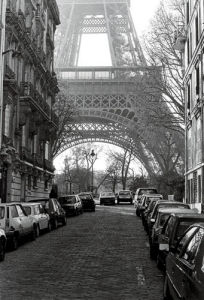 Street View of 'La Tour Eiffel' by Clay Davidson