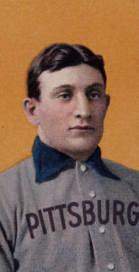 Honus Wagner Baseball Card. ca.1912 by Christie's Images