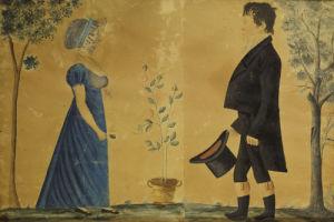 Portrait Of Johann And Susannah Beard by Jacob Maentel