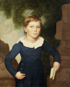 Portrait Of A Boy by American School