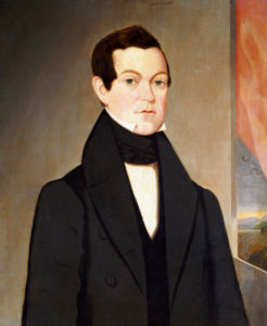 Portrait Of A Gentleman, 1845 by Sturtevant J. Hamblin
