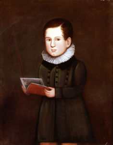 Portrait Of A Young Boy, 1830 by Zedekiah Belknap