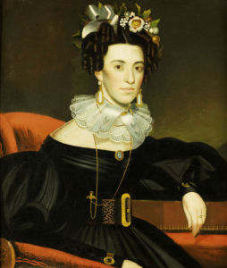Woman Wearing Fancy Jewelry by John Blunt