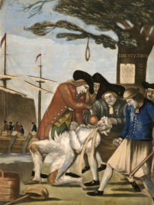 The Bostonian's Paying The Excise Man, 1774 by Philip Dawe