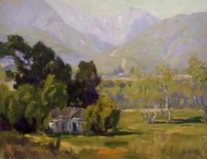 Canyon Near Ojai by Elmer Wachtel