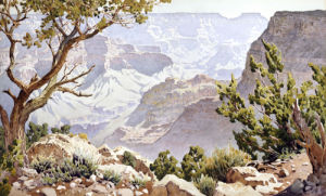 Grand Canyon by Gunnar Widforss