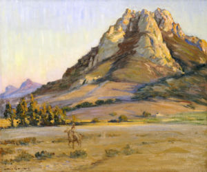 Castle Crags, San Luis Obispo by Arthur Merton Hazard