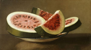 Still Life With Watermelon by American School