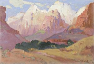 Grand Tetons by Franz A. Bischoff