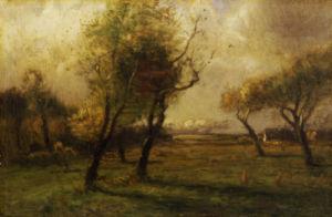 Autumn Glow by J. Francis Murphy