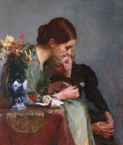 The Flowers by Charles Frederick Ulrich